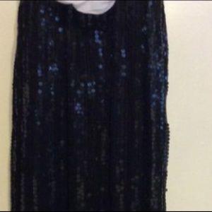 Shagubha Dresses - Shagubha Vintage Sequin Strapless Dress/Skirt